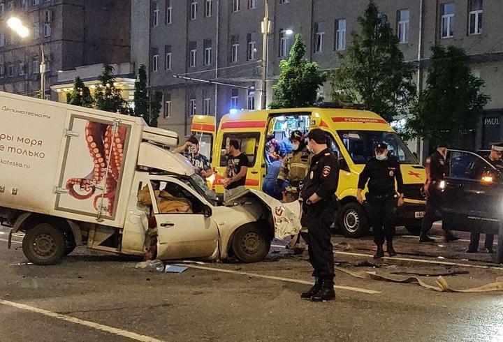 авария с Ефремовым в центре Москвы