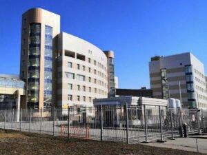 В Боткинской больнице на пожаре погиб пациент