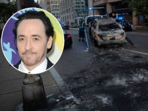 Полицейские напали на актера Джона Кьюсака