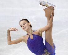 Щербакова показала, как «отрабатывает» прыжки во сне